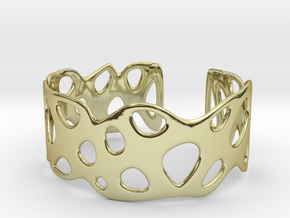 Cellular Bracelet Size S in 18K Gold Plated