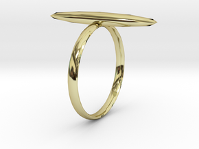 Statement Ring US Size 8 UK Size Q in 18K Gold Plated