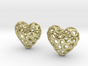 Small hearts, Big love (from $17.50) in 18K Gold Plated