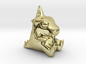 Baby Dino Dude 1.5-Inch in 18K Gold Plated