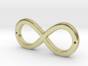 Infinity Sign in 18K Gold Plated