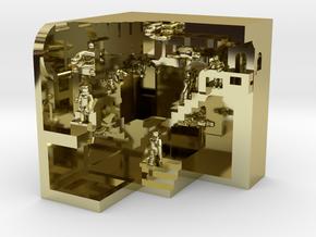 Relativity Crash Mash in 18K Gold Plated