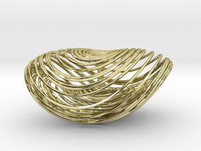 Three Scroll Unified Chaotic System in 18K Gold Plated
