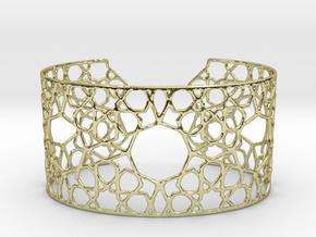 Silver Cairo Arab Bracelet in 18K Gold Plated