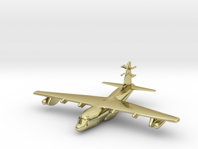 1:700 Lockheed EC-130j Commando Solo Military Airc in 18K Gold Plated