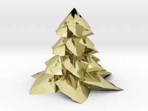 Christmas tree - Sapin De Noel in 18K Gold Plated