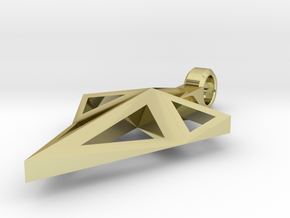 Spearhead Pendant  in 18K Gold Plated