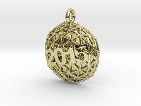 New Year Ball 2015 in 18K Gold Plated
