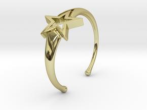 UpStar Bracelet (Size M) in 18K Gold Plated