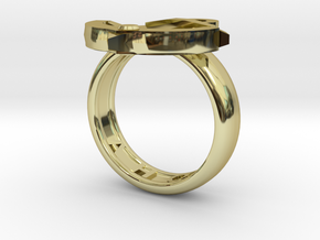 Ahoy Ring (various sizes) in 18K Gold Plated