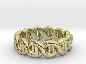 DNA sz17 in 18K Gold Plated