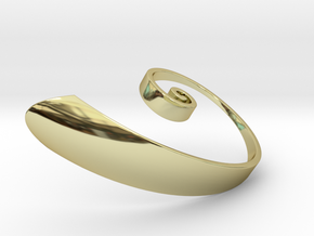 Spiral-Phi in 18K Gold Plated