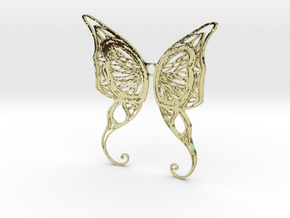 Butterfly Wings- Alternate version in 18K Gold Plated