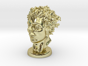 The Kid In April 3 Inches Tall in 18K Gold Plated