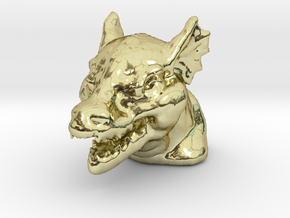 DRAGON MONOPOLY PIECE in 18K Gold Plated