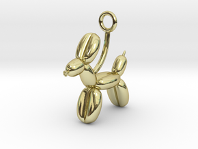 Balloon Animal in 18K Gold Plated