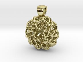 PERLA Pendant (cm 2) in 18K Gold Plated