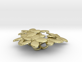 Forget me Nots in 18K Gold Plated
