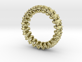 Spline in 18K Gold Plated