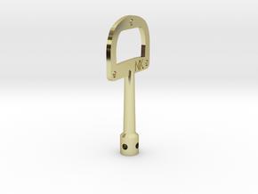 DruNKey v1.0 - A Drum Key Bottle Opener in 18K Gold Plated