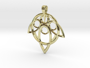 Yuna Summoner Pendant  in 18K Gold Plated