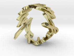 Amour Fou Ring (Various Sizes) in 18K Gold Plated