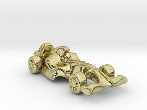 F1Car in 18K Gold Plated