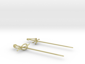 Rapier Earrings (17th c. Sword) in 18K Gold Plated