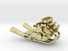 Yamaha Vmax engine miniature in 18K Gold Plated