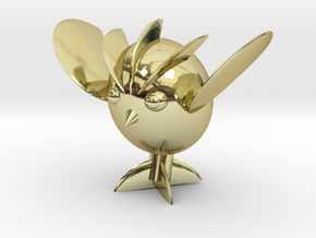 Avocaowl in 18K Gold Plated