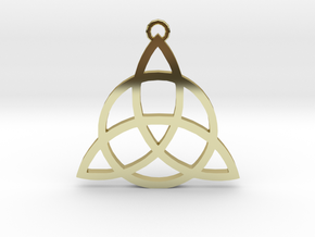 Triquetra in 18K Gold Plated