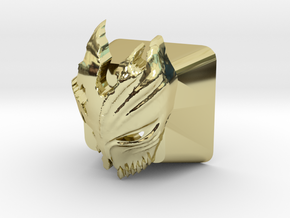 Cherry MX Kurosaki Mask Keycap in 18K Gold Plated
