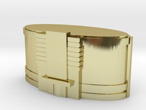 Nightclub Custom Board Game Piece  in 18K Gold Plated