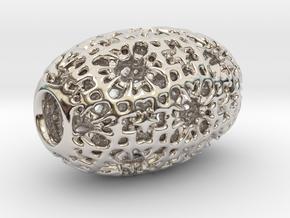 PA Sharm V4 H22x14SE87u1v1a10f Wax in Rhodium Plated Brass
