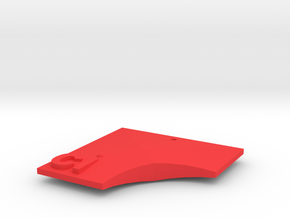 Ci Pendant in Red Processed Versatile Plastic
