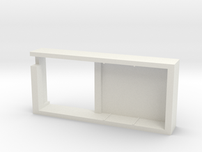 SX350 Chipset Tray in White Natural Versatile Plastic