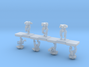 3mm/6mm BipedBots Mk9 in Smooth Fine Detail Plastic