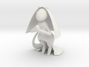 Ferret Cleric in White Natural Versatile Plastic