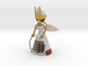 Angelic Guardian in Full Color Sandstone