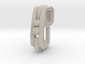 Pendant for rings in Natural Sandstone