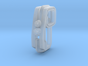 Pendant for rings in Smooth Fine Detail Plastic