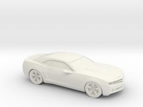 1/87 2007 Chevrolet Camaro in White Natural Versatile Plastic