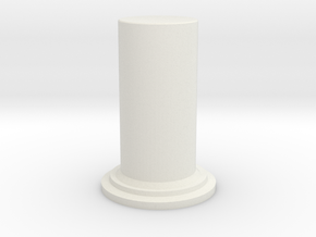 A2 Diffusor Cylinder in White Strong & Flexible