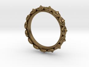 Circular Ring ø 15,3 0.602 Inch 48 C in Natural Bronze
