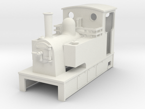 OO9 Cheap and easy Kerr stuart style tram loco   in White Natural Versatile Plastic