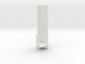 Special design hook in White Natural Versatile Plastic