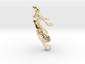 Spirit of Beauty in 14k Gold Plated Brass