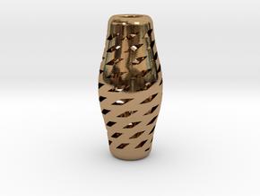 Turandot Prima Necklace in Polished Brass