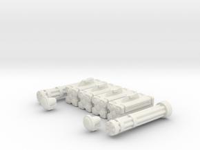 Armament: Defender in White Natural Versatile Plastic