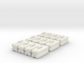 Armaments: VF Micro Missiles 6 Pack in White Natural Versatile Plastic